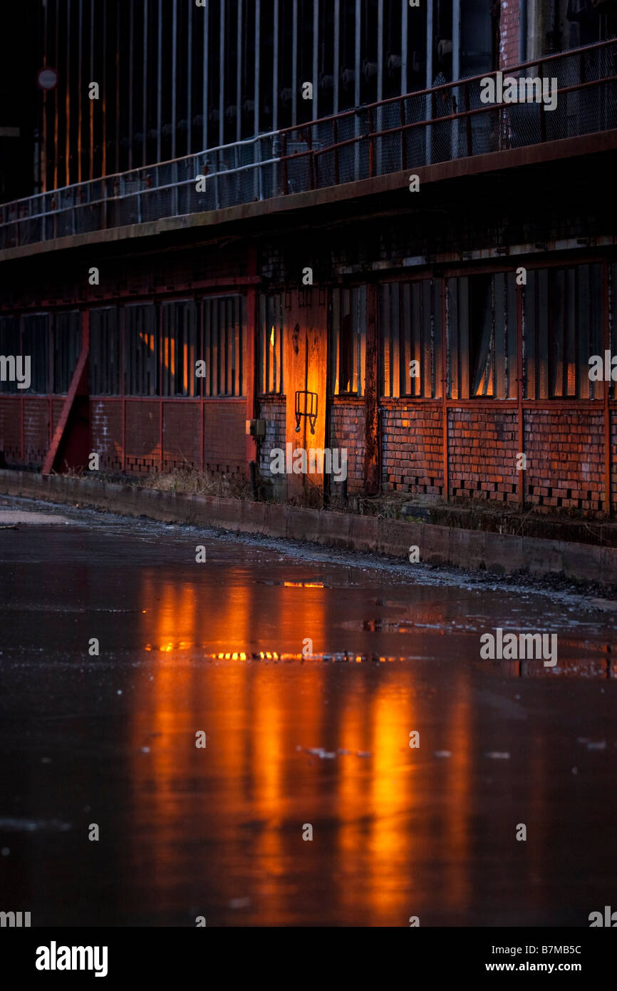 Zeche Zollverein kokerai coking plant, Essen Germany. - Stock Image