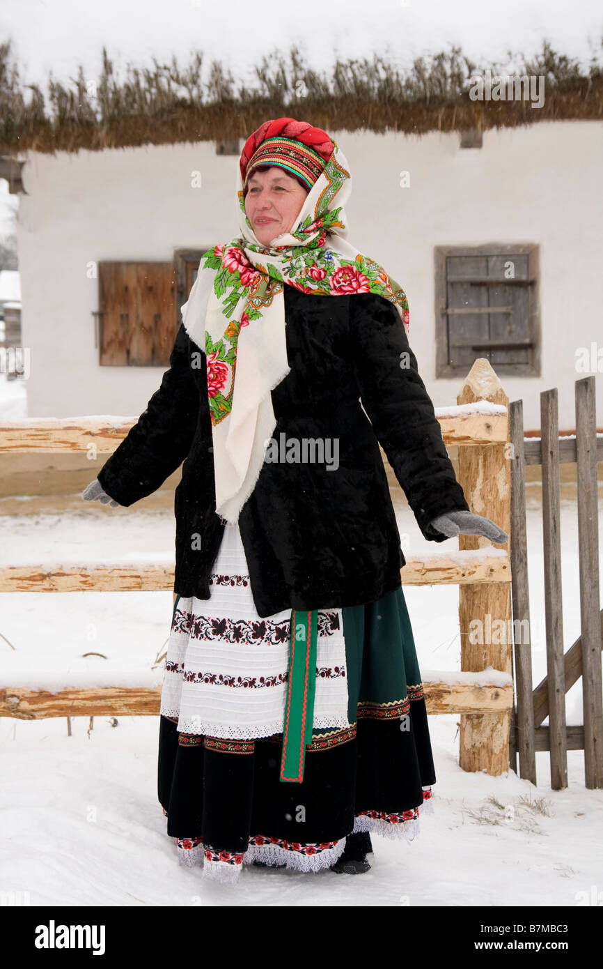 Ukrainian Woman - Stock Image