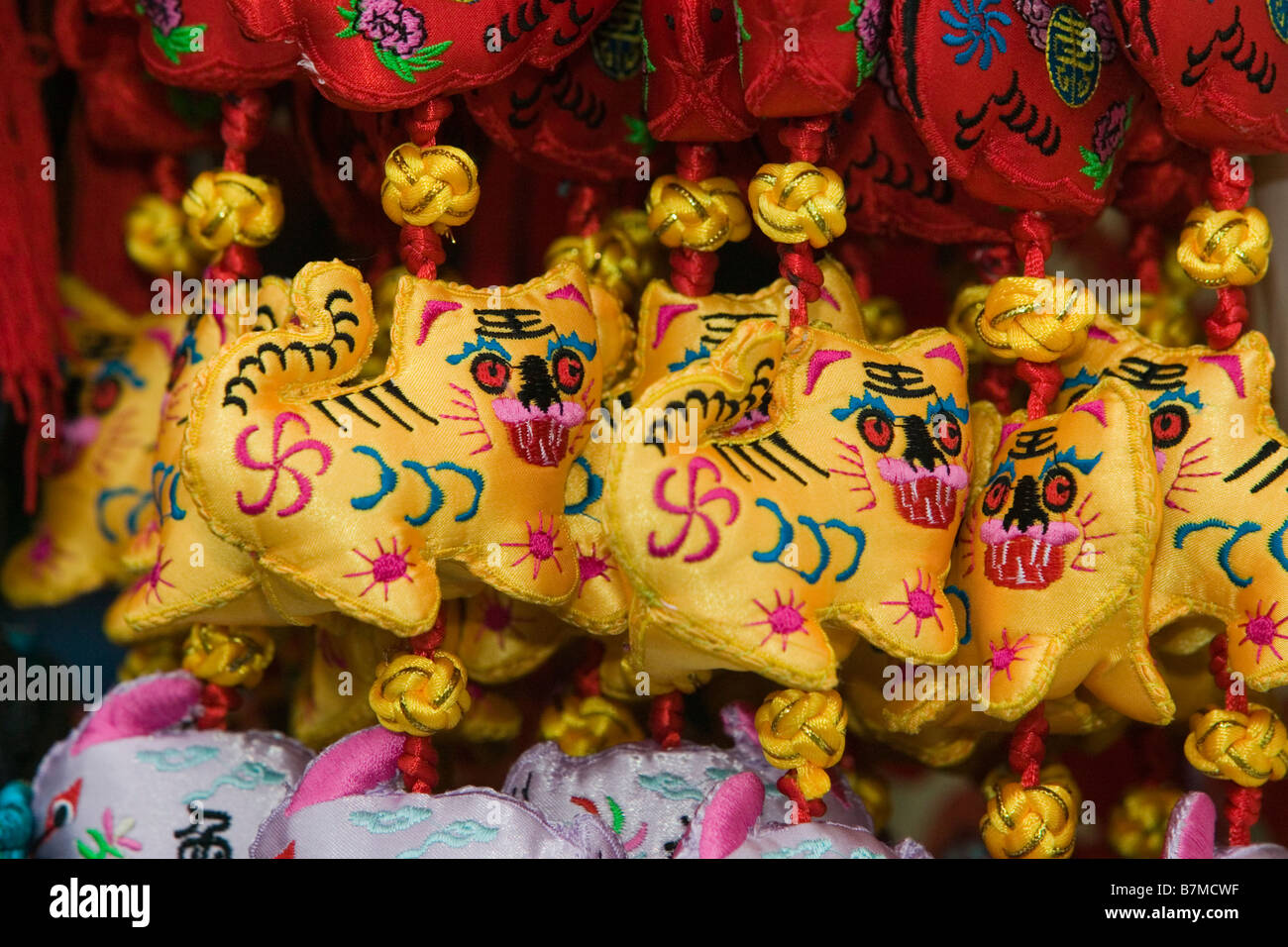 Year of the Tiger - Chinese Horoscope - Stock Image