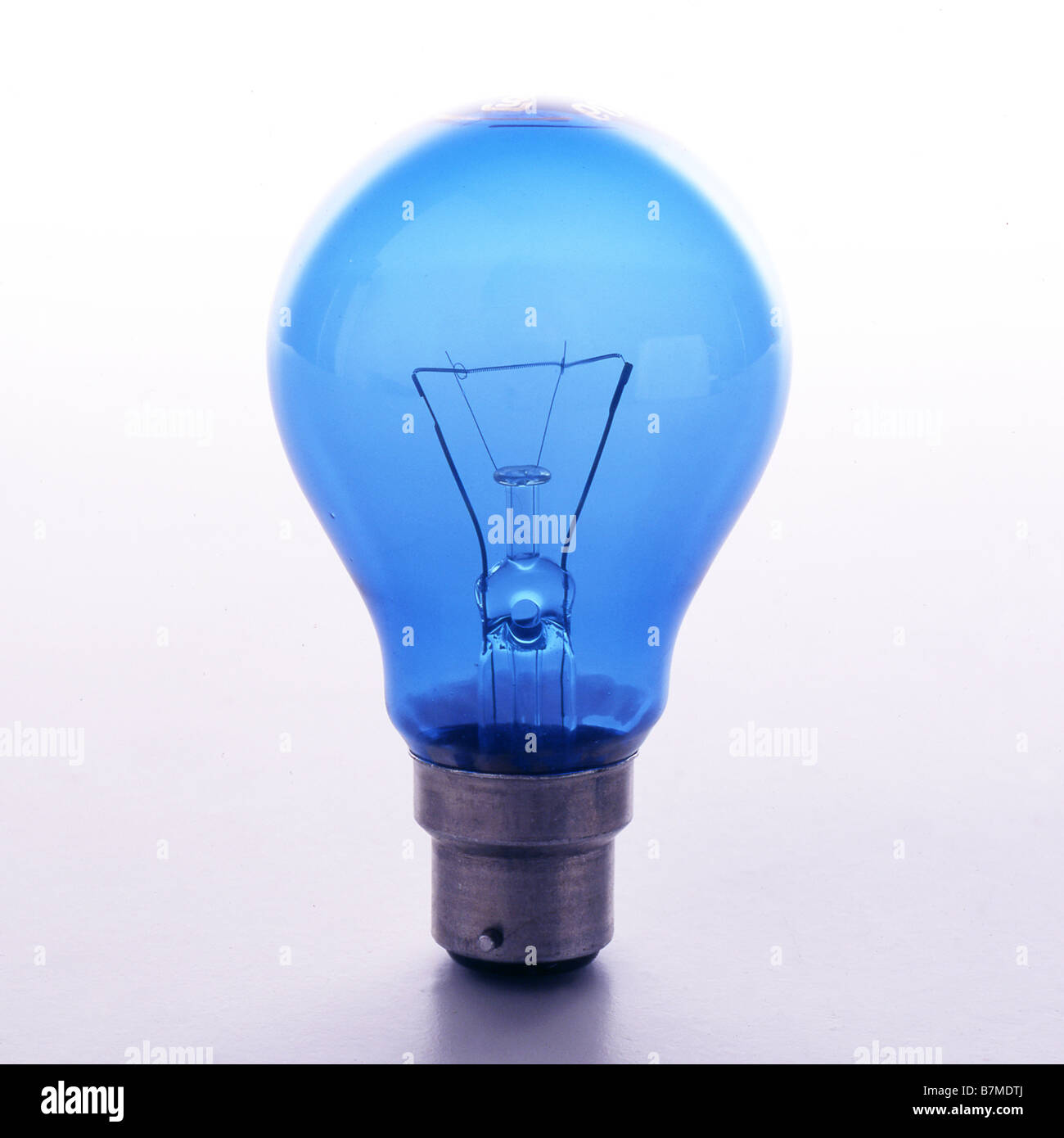 Tungsten lightbulb - Stock Image
