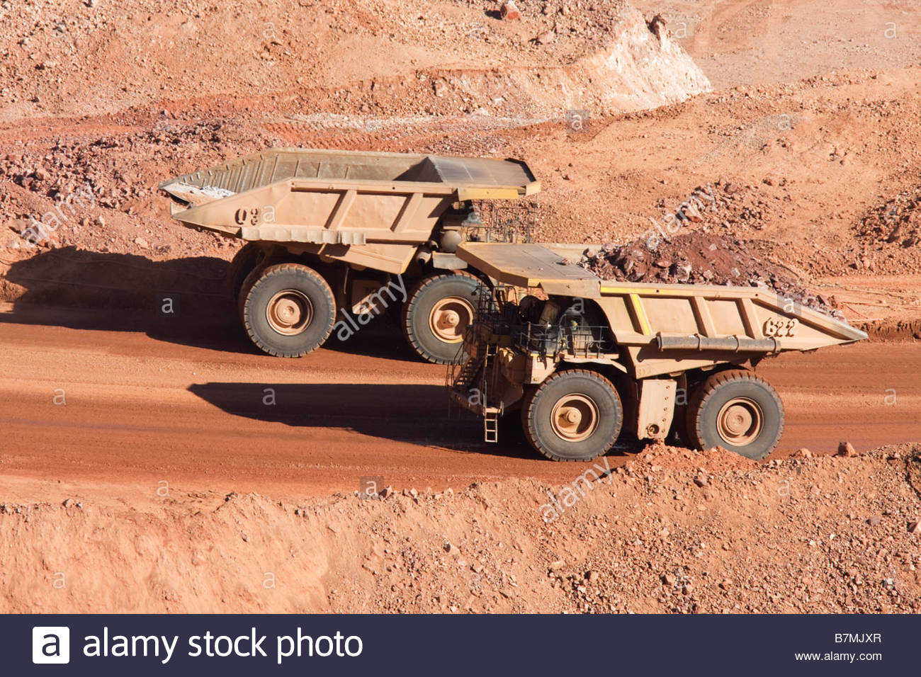 Caterpillar CAT 793D mine haul truck 240 ton nominal capacity - Stock Image