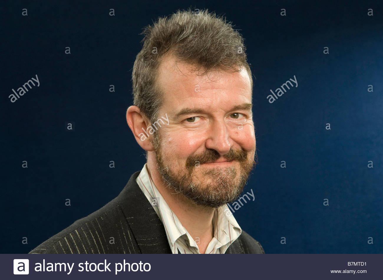 Adam Mars Jones author novelist and critic and writer of Pilcrow the story of a young boy coping with disability - Stock Image