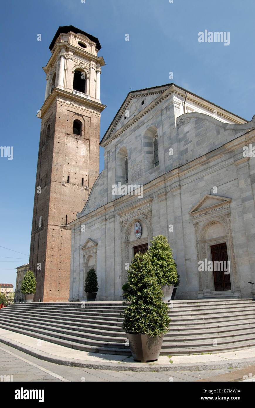 Duomo di San Giovanni, the cathedral and home of the Turin Shroud, Turin, Piedmont, Italy. - Stock Image
