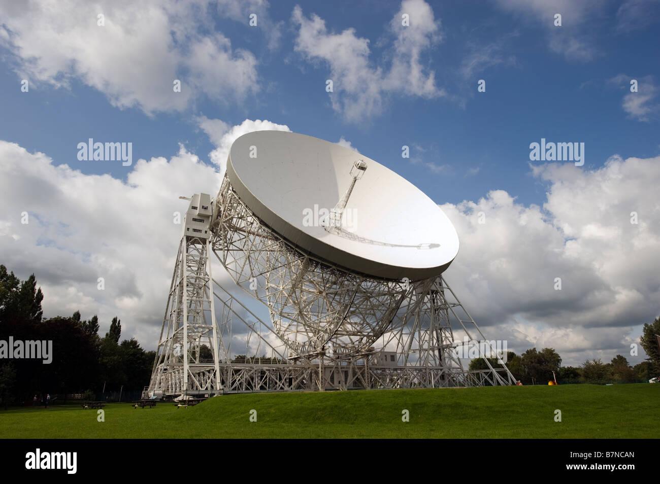 Lovell Telescope Jodrell Bank Cheshire - Stock Image