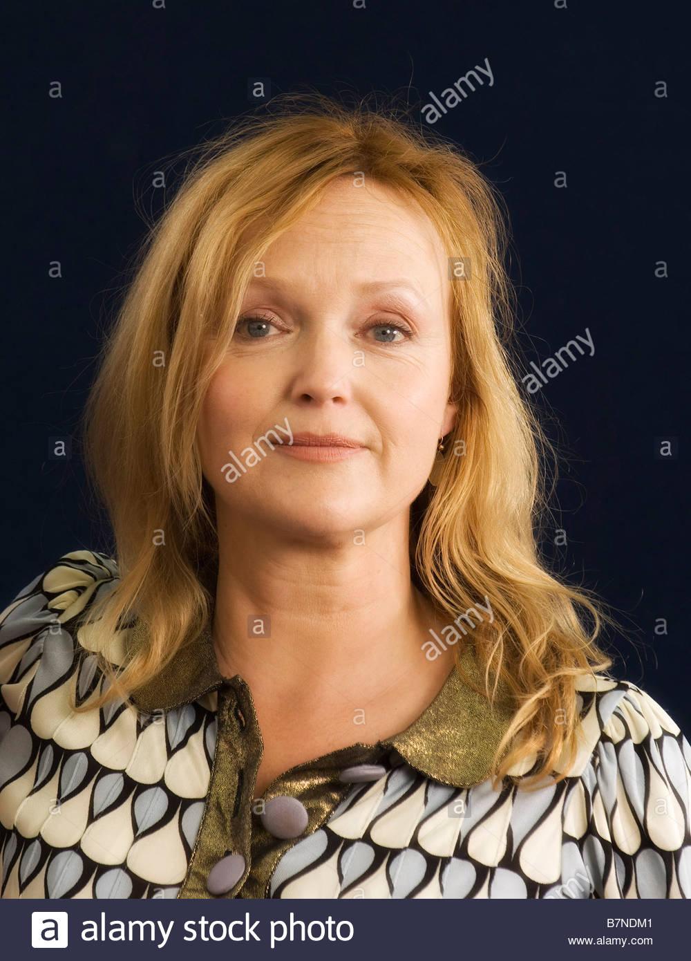 Miranda Richardson actress and narrator of The Horrid Henry audiobooks - Stock Image