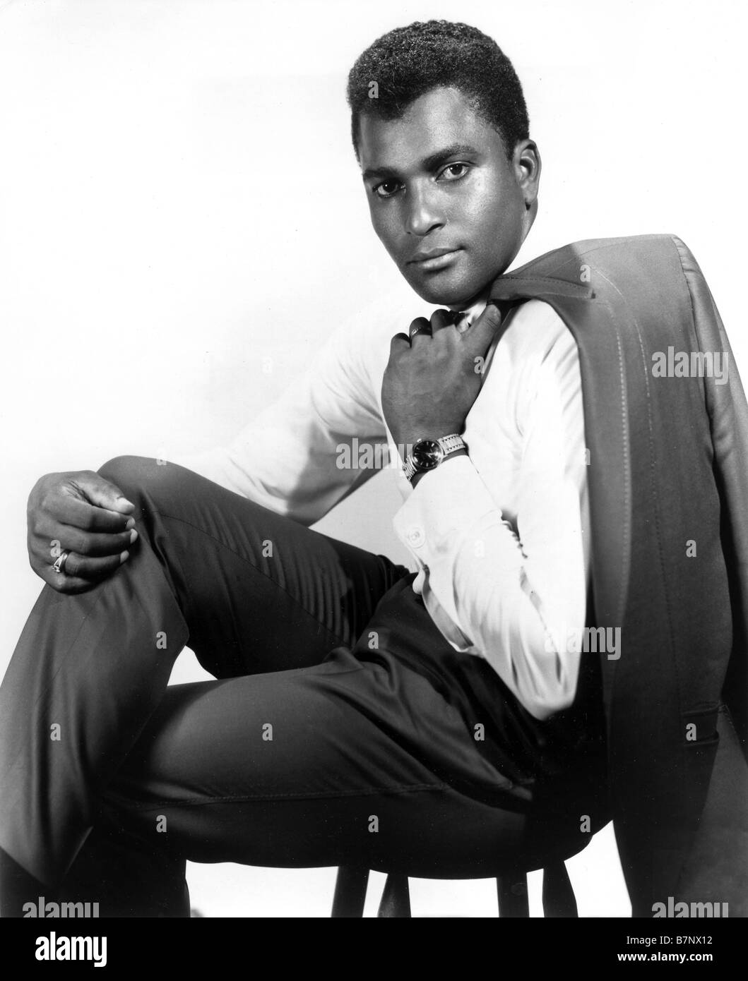 CHARLEY PRIDE US Country Western singer - Stock Image