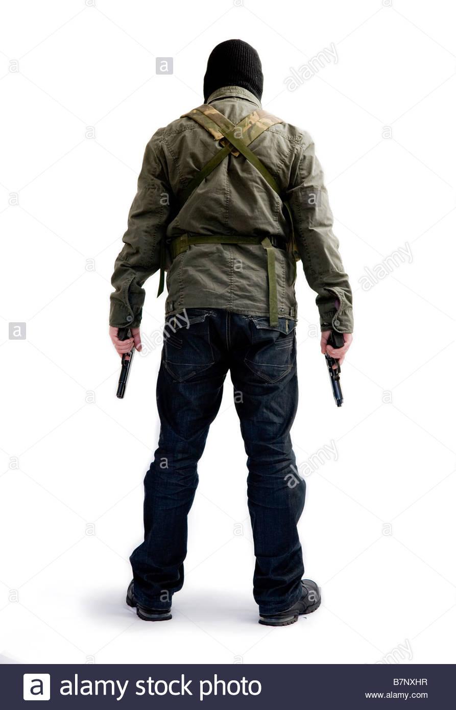 gunman - Stock Image