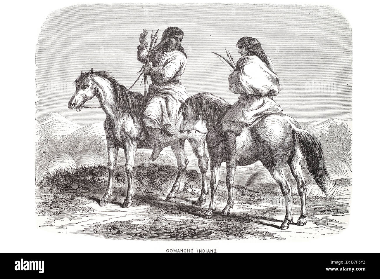 Ancient Indians Horse High Resolution Stock Photography And Images Alamy