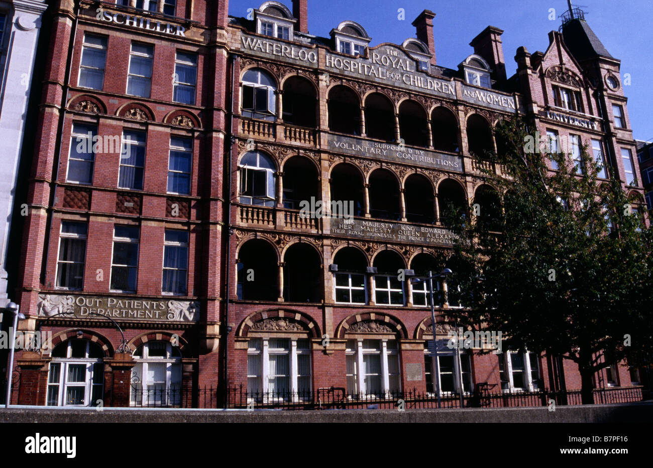 The Schiller International University, formerly Royal Waterloo Stock