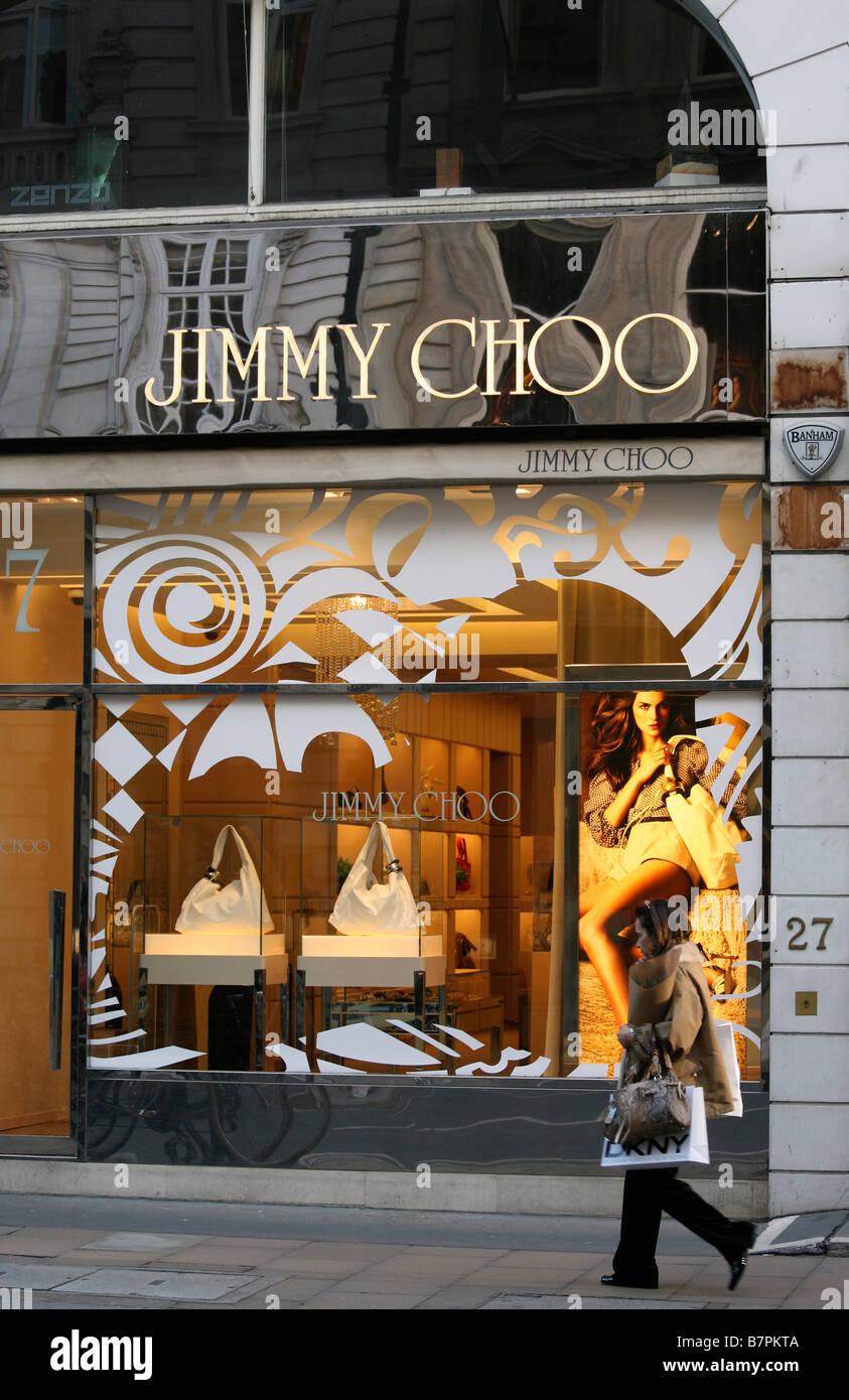c9f86b1029c Jimmy Choo store, Bond Street London Stock Photo: 22011482 - Alamy