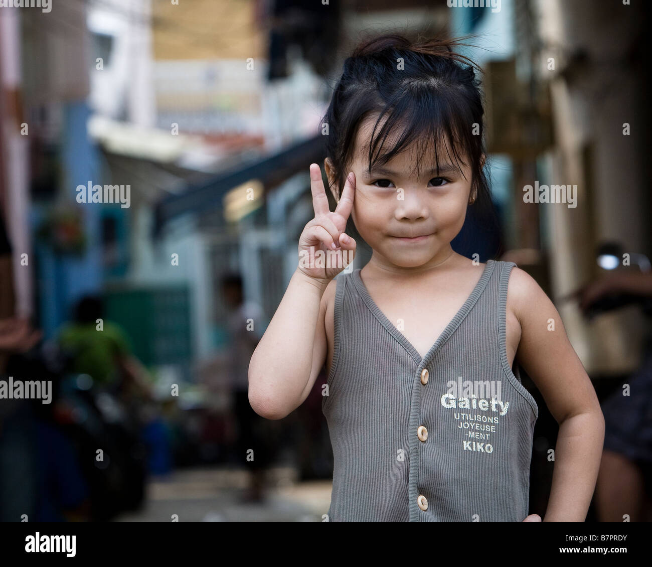 Vietnam Girl Child Stock Photos & Vietnam Girl Child Stock