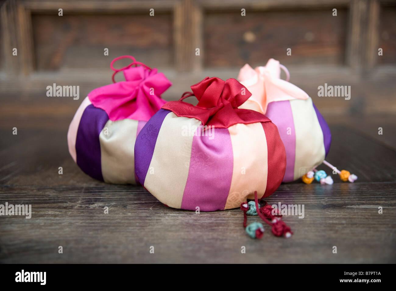 lucky bag - Stock Image