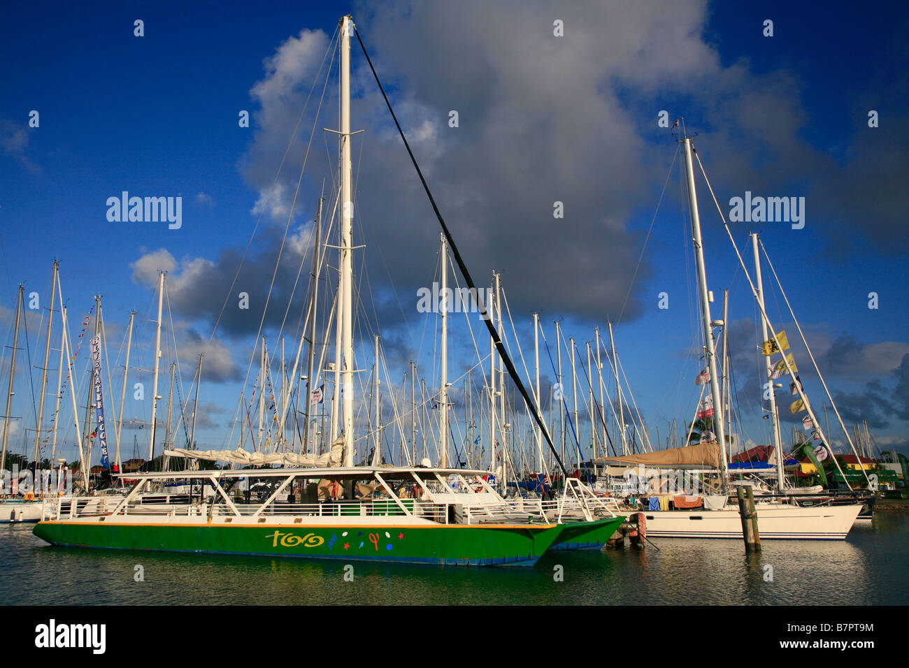 Boats, St Lucia - Stock Image