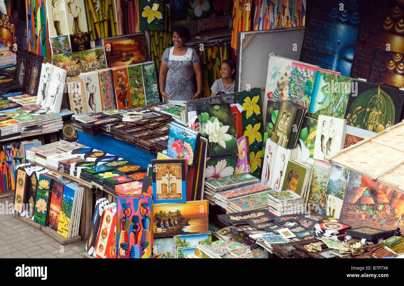 Ubud Market - Stock Image