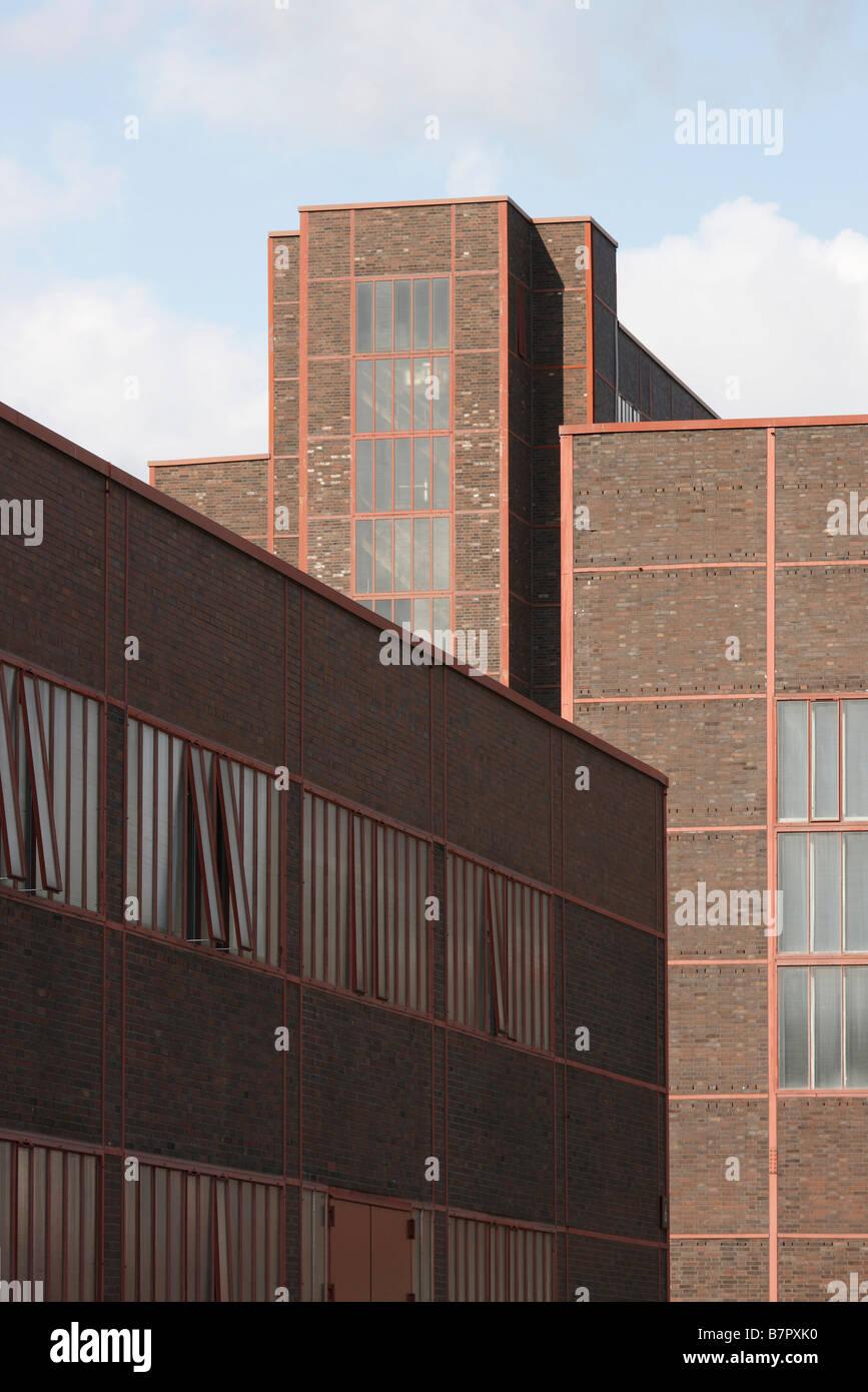Essen, Zeche Zollverein, Blick auf das Kesselhaus - Stock Image