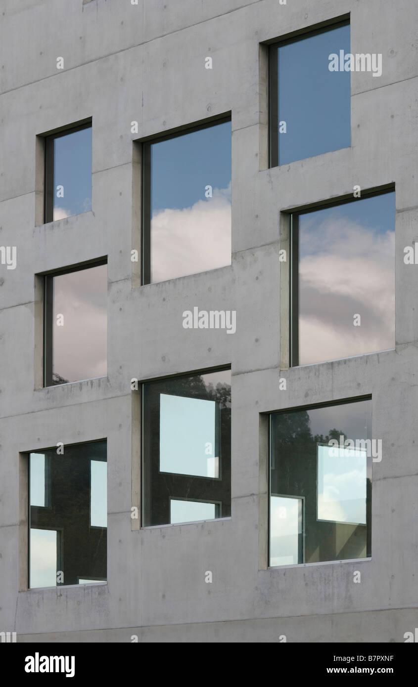 Essen Zeche Zollverein Zollverein School of Management and Design erste Gebäude der Architekten Kazuyo Sejima - Stock Image
