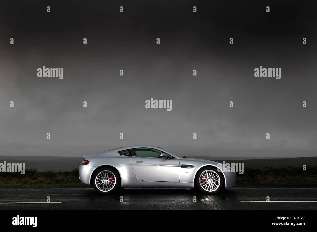 Aston Martin V8 Vantage - Stock Image