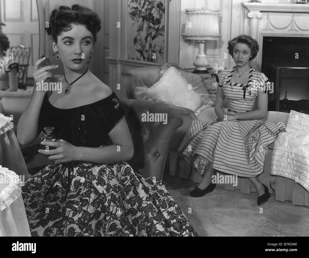A Date with Judy  Year: 1948 USA Elizabeth Taylor (Liz Taylor), Jane Powell  Director: Richard Thorpe - Stock Image