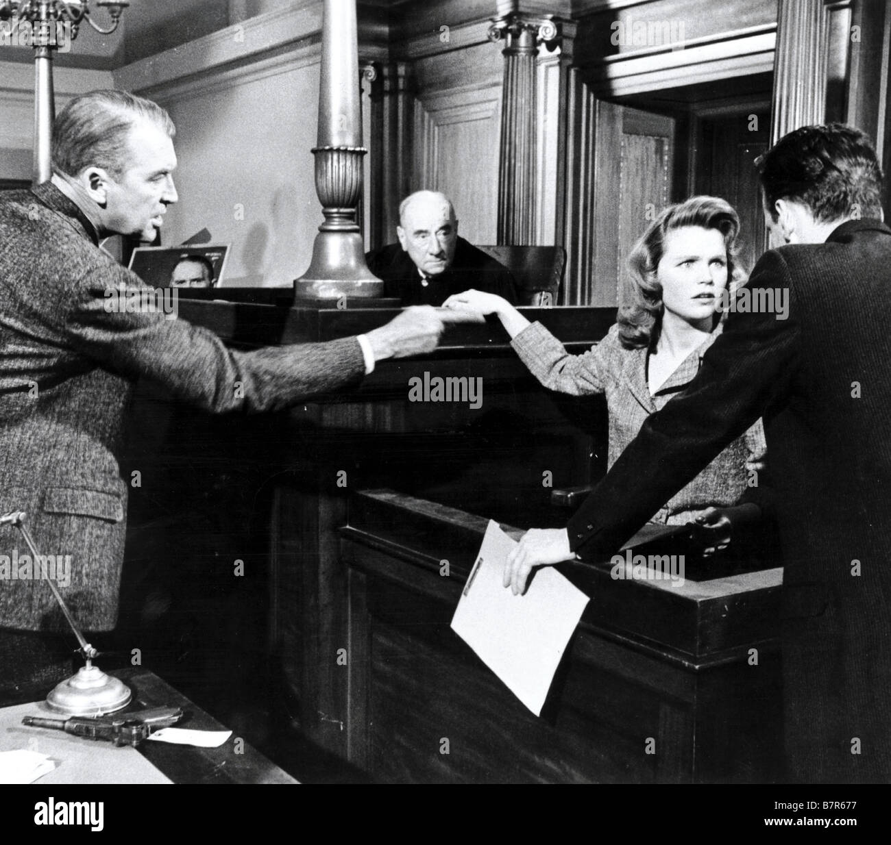 Anatomy of a Murder Year: 1959 USA James Stewart, Lee Remick Stock ...
