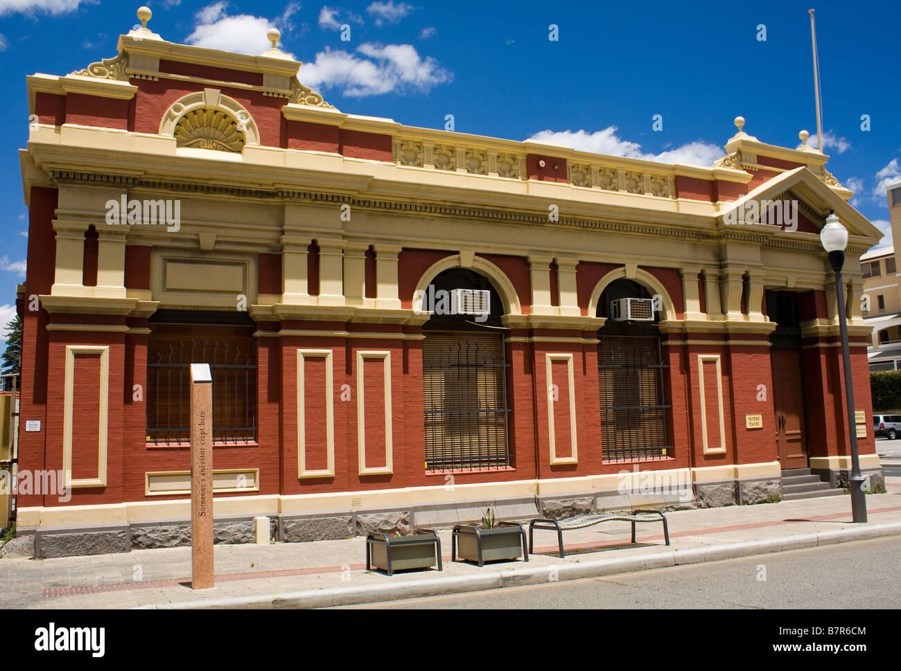 The Art School Fremantle Perth Western Australia - Stock Image