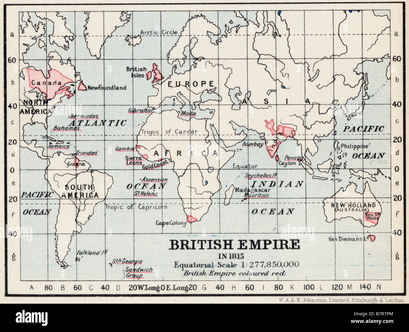 Map Of England 980 Ad.British Empire Map Stock Photos British Empire Map Stock Images