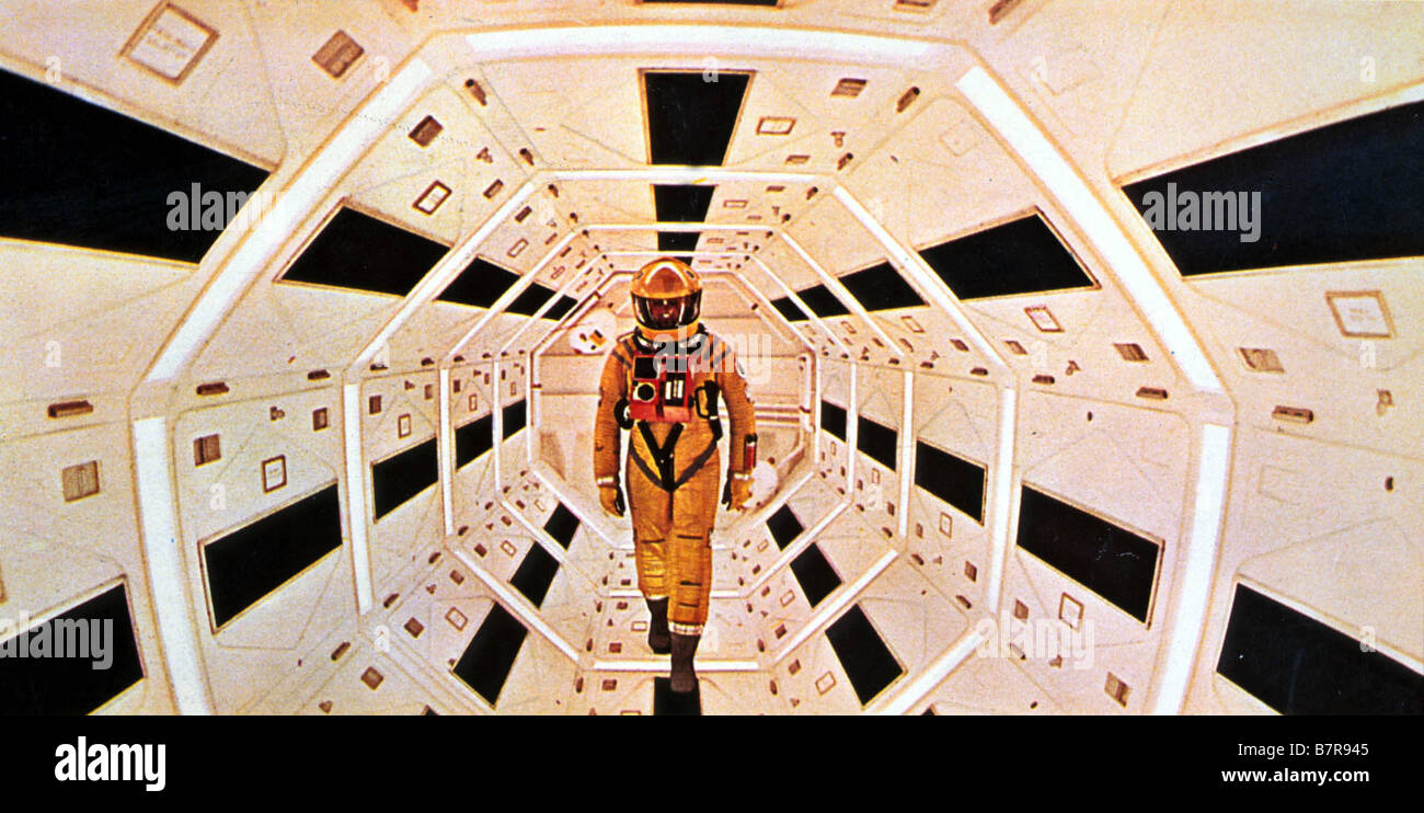 2001: A Space Odyssey Year: 1968 - UK / USA Director: Stanley Kubrick - Stock Image