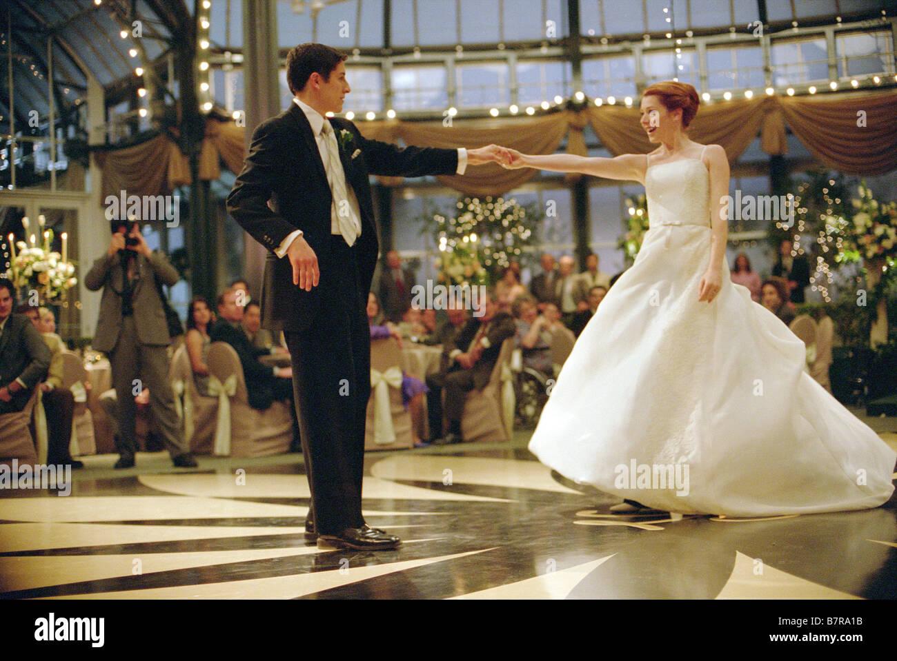 American Wedding  Year: 2003 USA  Jason Biggs, Alyson Hannigan  Directed by Jesse Dylan - Stock Image