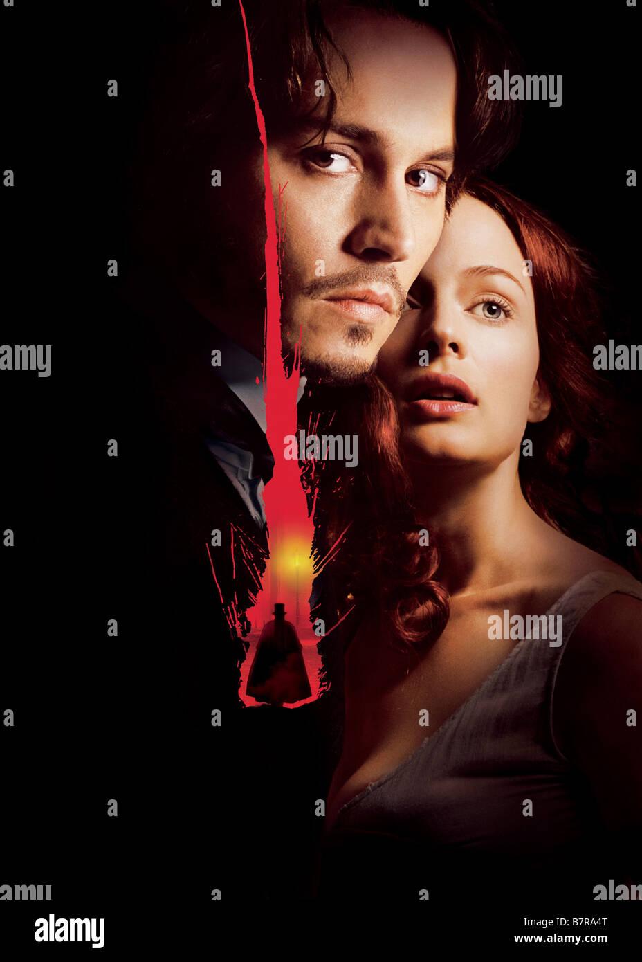 From Hell Year: 2001 USA / UK Johnny Depp, Heather Graham  Director: Albert Hughes  Allen Hughes Art Work - Stock Image