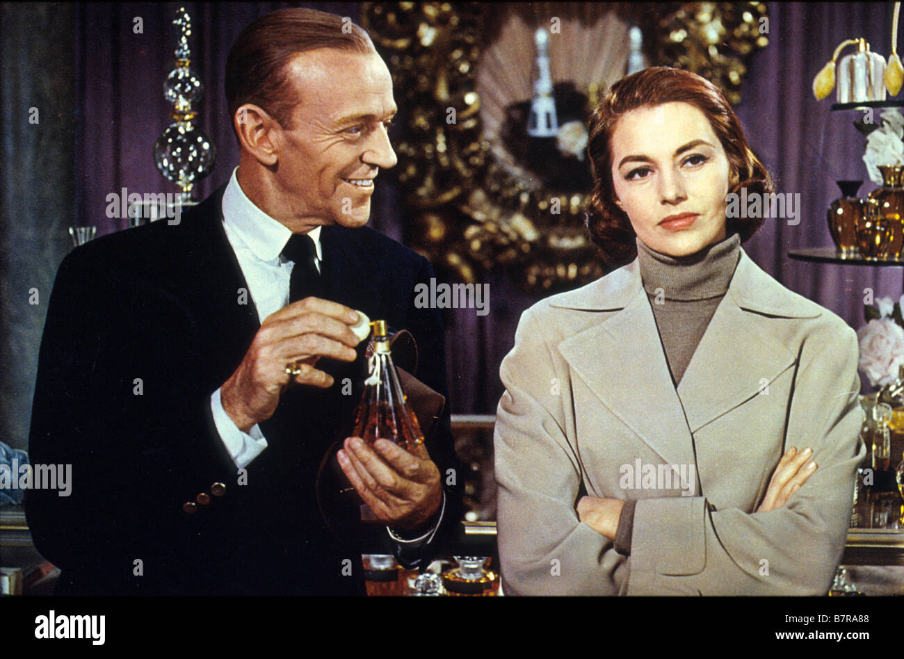La belle de moscou Silk Stockings  Year: 1957 USA Fred Astaire, Cyd Charisse  Director: Rouben Mamoulian - Stock Image