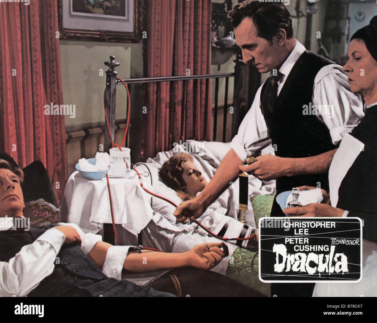 Horror of Dracula Year: 1958 - UK Peter Cushing Michael Gough  Director: Terence Fisher Stock Photo