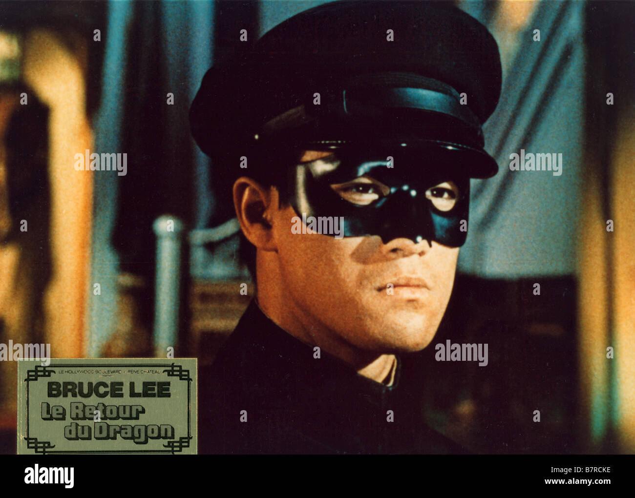 The Green hornet TV Series 1966 - 1967 USA Created by George W. Trendle Bruce Lee - Stock Image