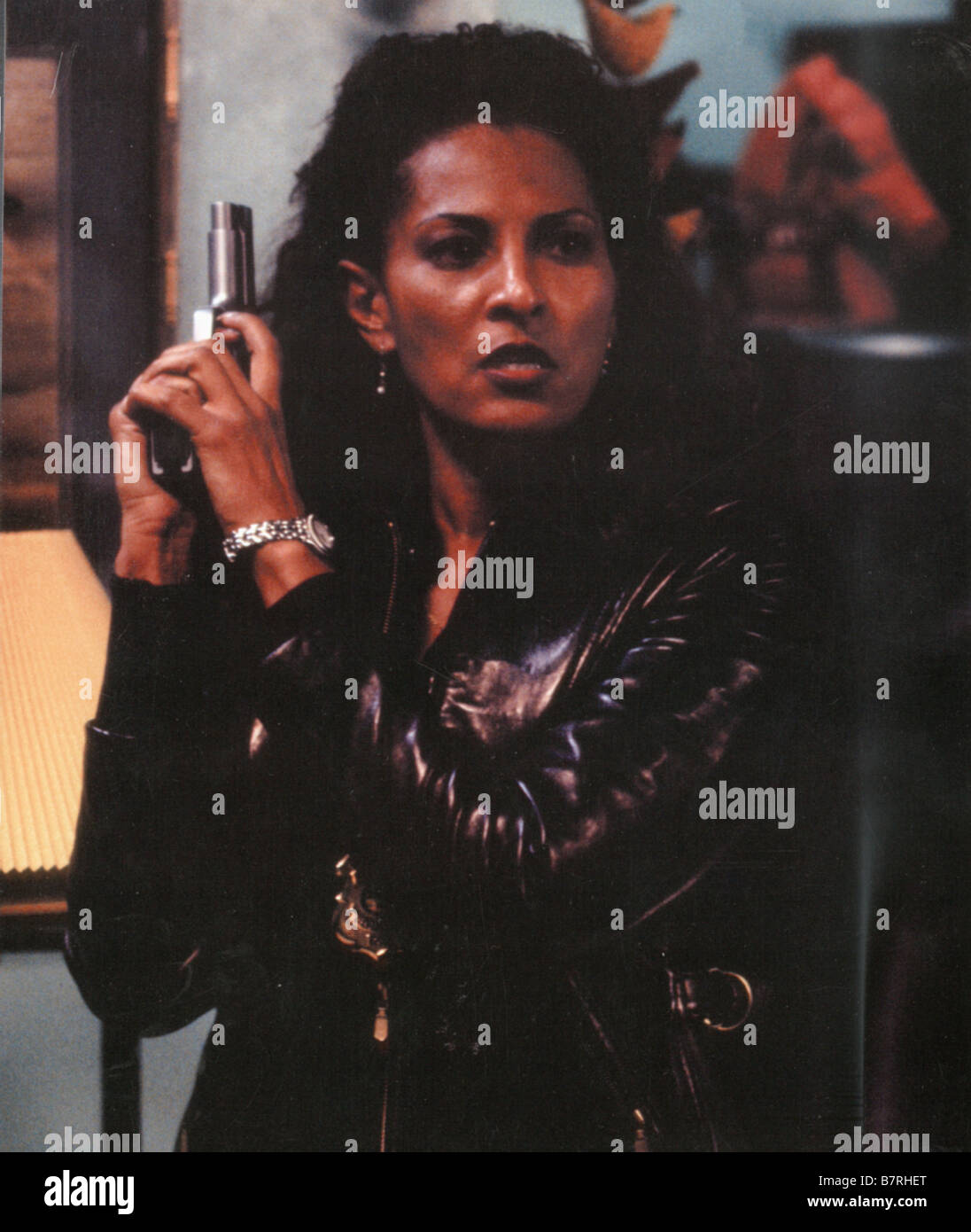 GANGSTA COP IN TOO DEEP  Year: 1999 USA Pam Grier USA 1999  Director: Michael Rymer - Stock Image