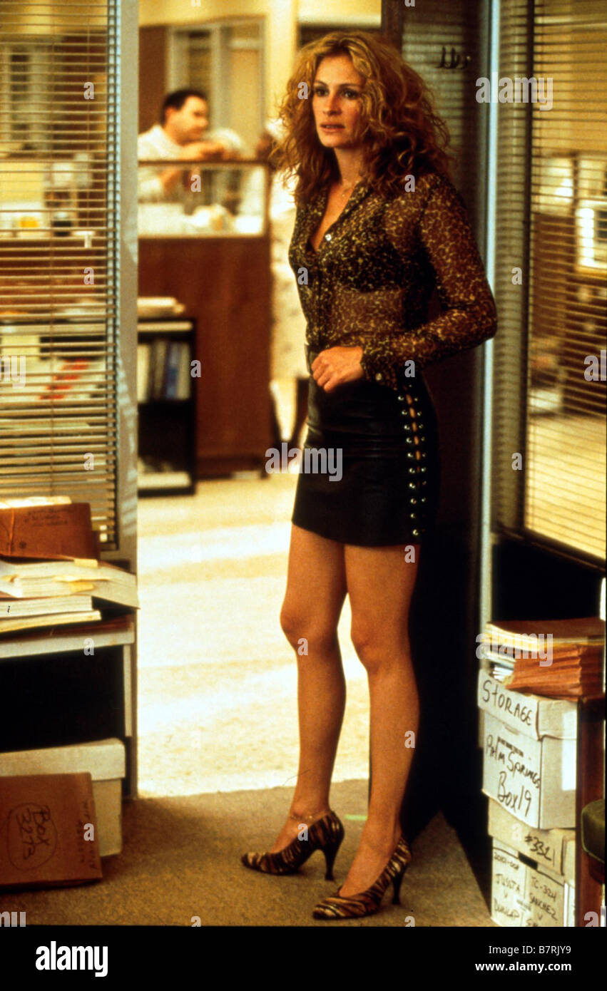 Erin Brockovich  Year: 2000 USA Julia Roberts Director: Steven Soderbergh - Stock Image