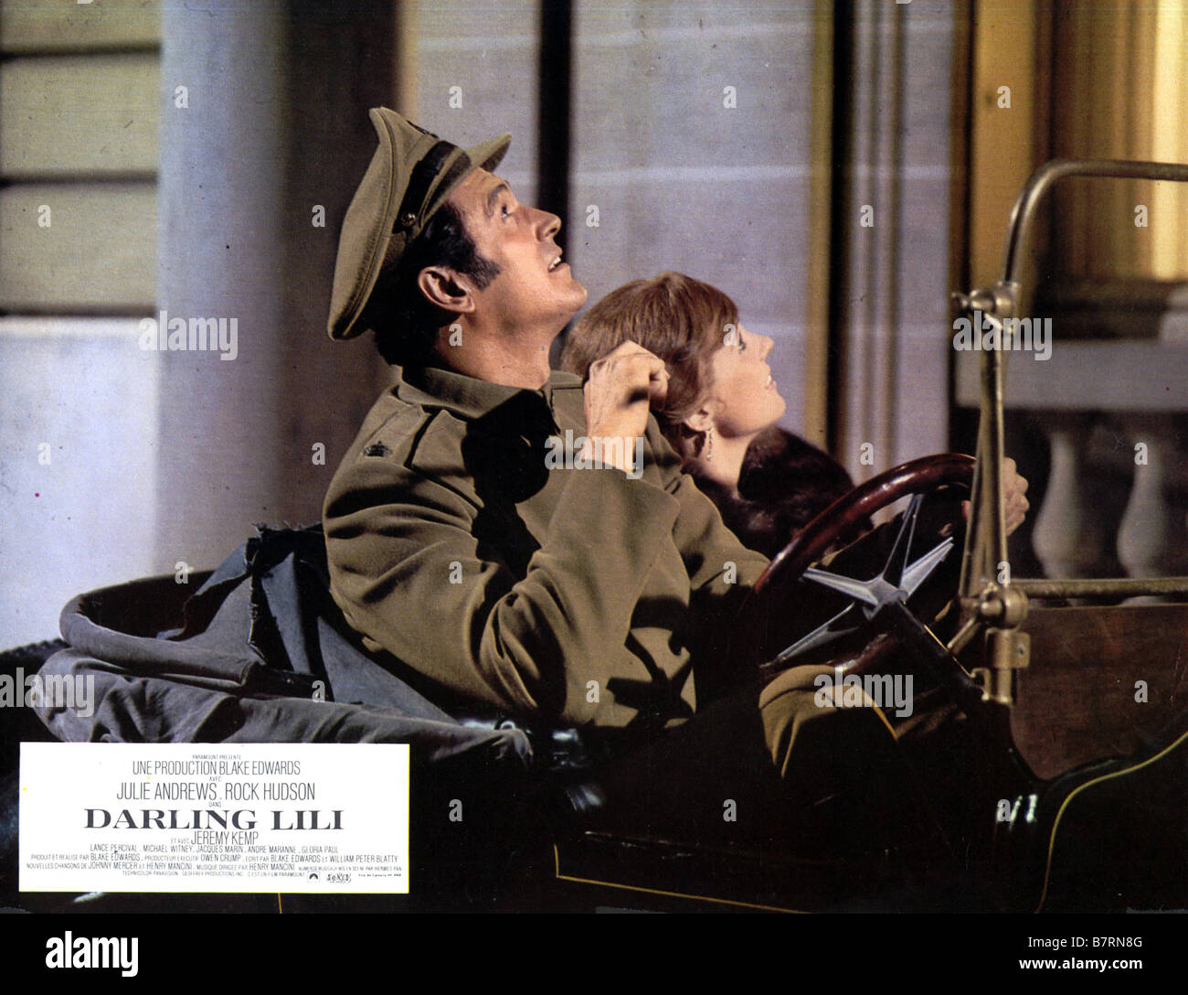 Darling Lili Year: 1970 USA Julie Andrews, Rock Hudson  Director: Blake Edwards - Stock Image