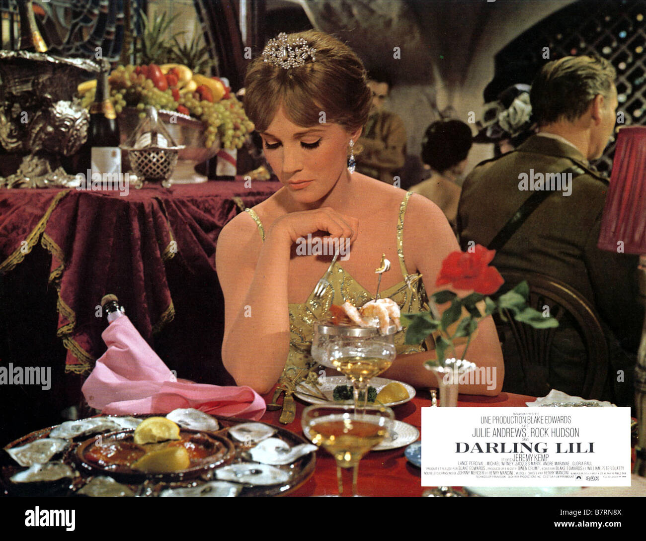 Darling Lili Year: 1970 USA Julie Andrews  Director: Blake Edwards - Stock Image