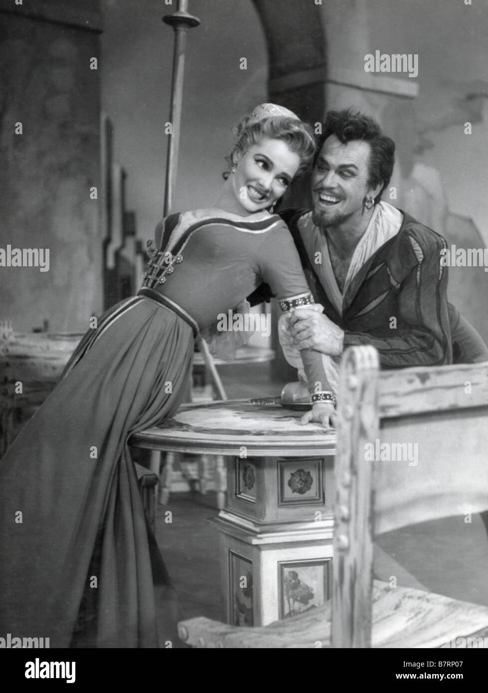 Embrasse moi chérie Kiss Me Kate  Year: 1953 USA Howard Keel, Kathryn Grayson ....  Director: George Sidney - Stock Image
