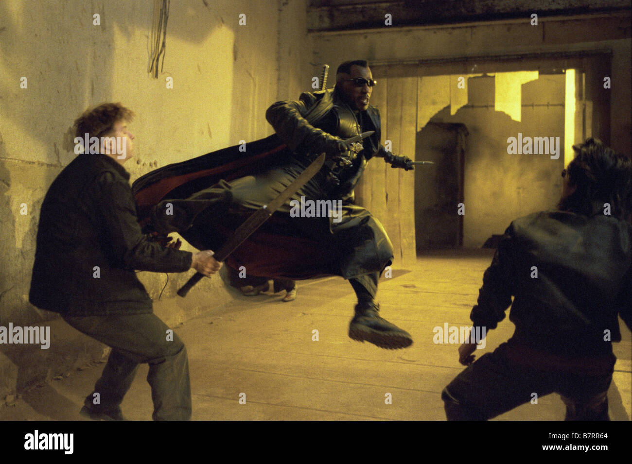 Blade II  Year: 2002 USA Wesley Snipes  Director: Guillermo del Toro - Stock Image