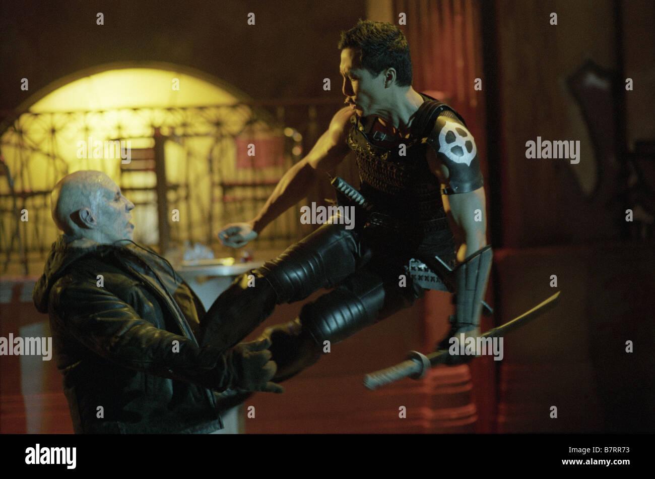 Blade II  Year: 2002 USA Donnie Yen Director: Guillermo del Toro - Stock Image