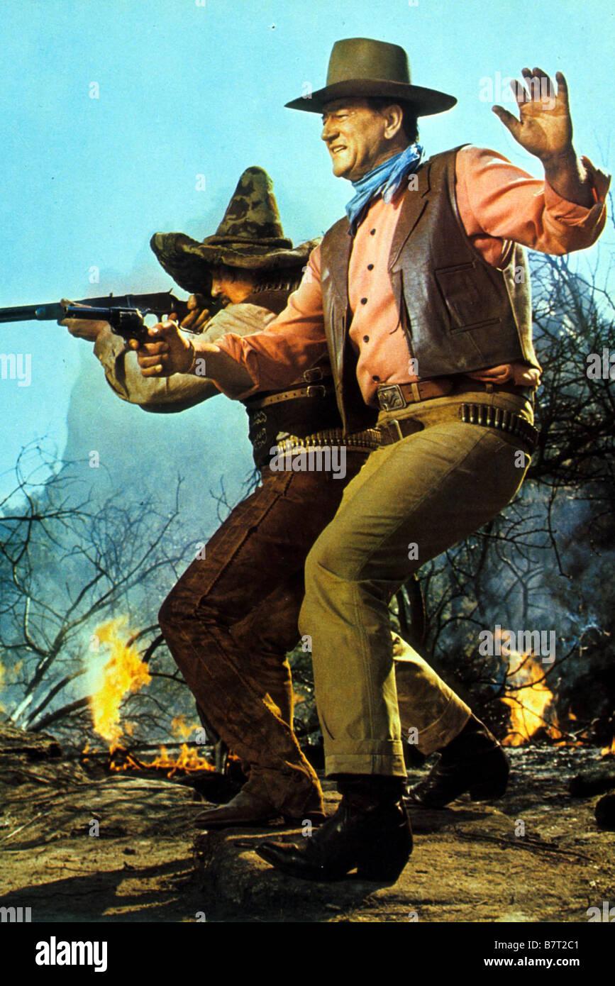 The War Wagon  Year: 1967 USA John Wayne  Director: Burt Kennedy - Stock Image