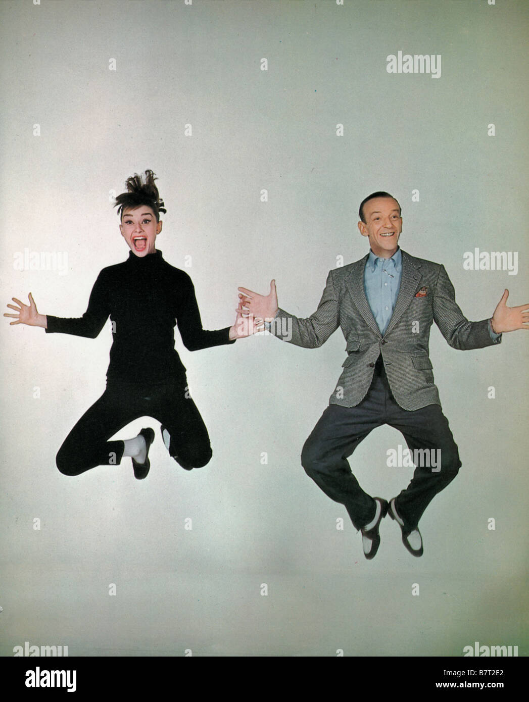 Funny Face Year: 1957 USA Fred Astaire Audrey Hepburn  Director: Stanley Donen - Stock Image