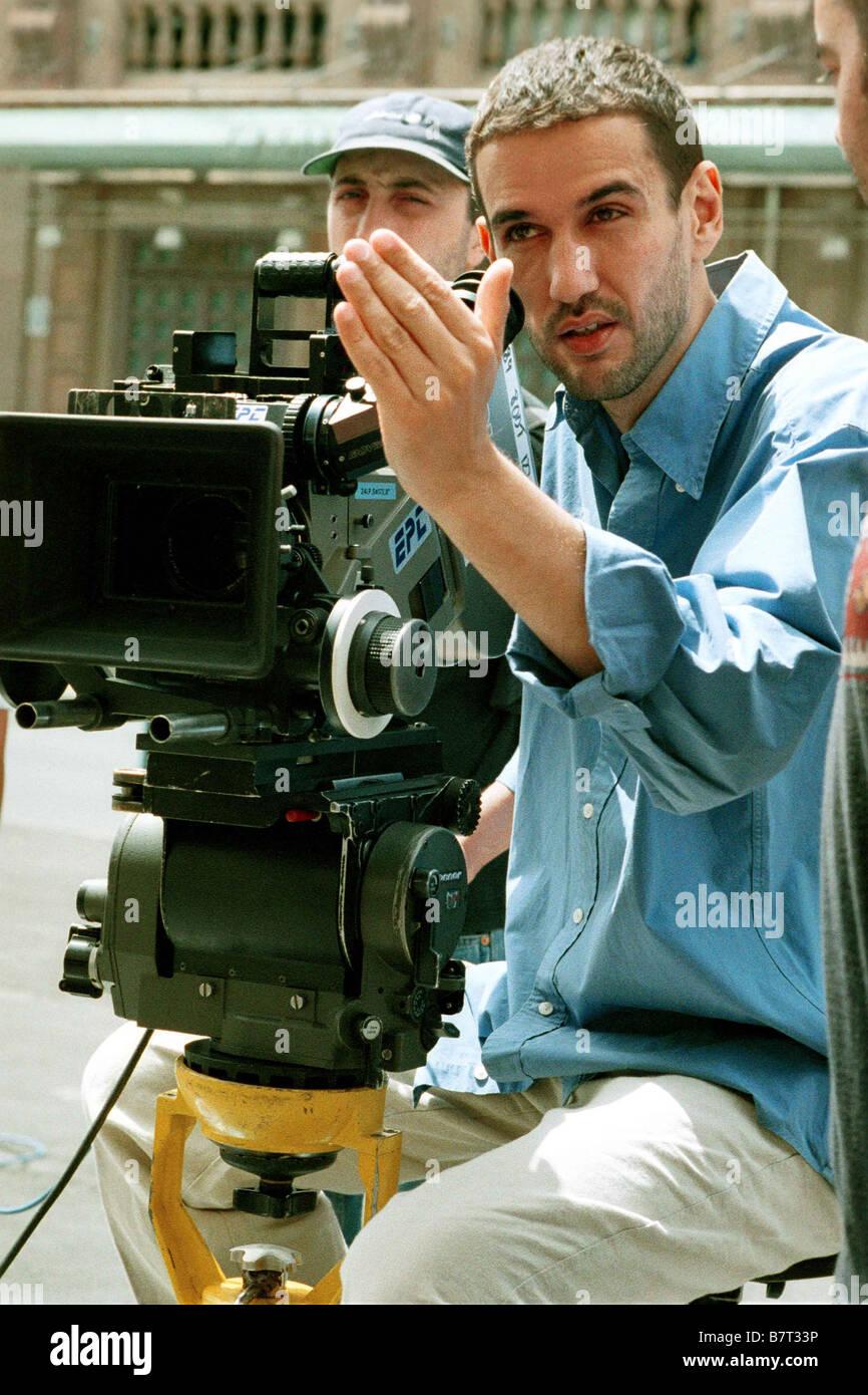 Au bonheur des hommes Hombres felices  Year: 2001 - spain On the set.. Tournage  Director:Roberto Santiago - Stock Image