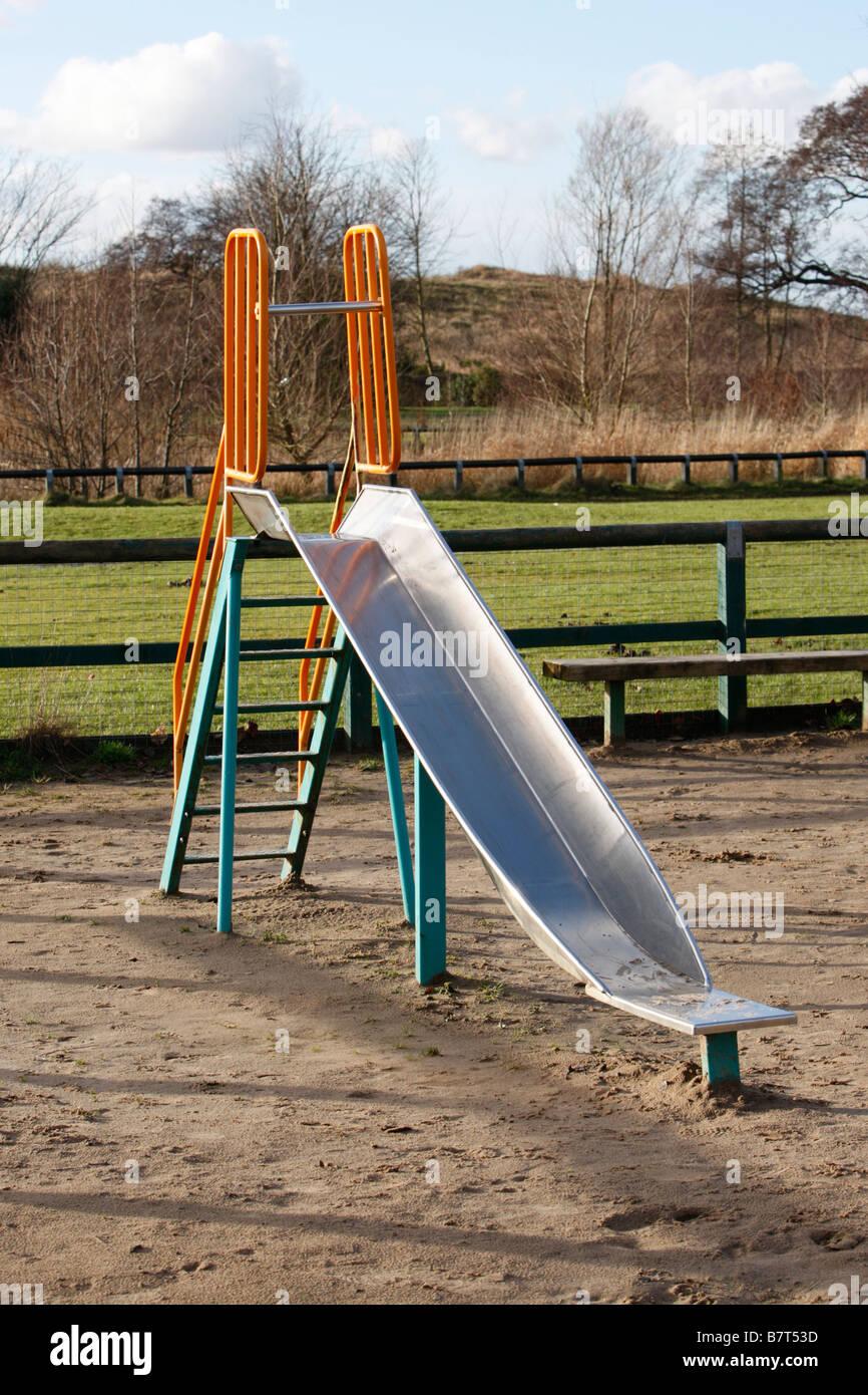 slide play ground - Stock Image