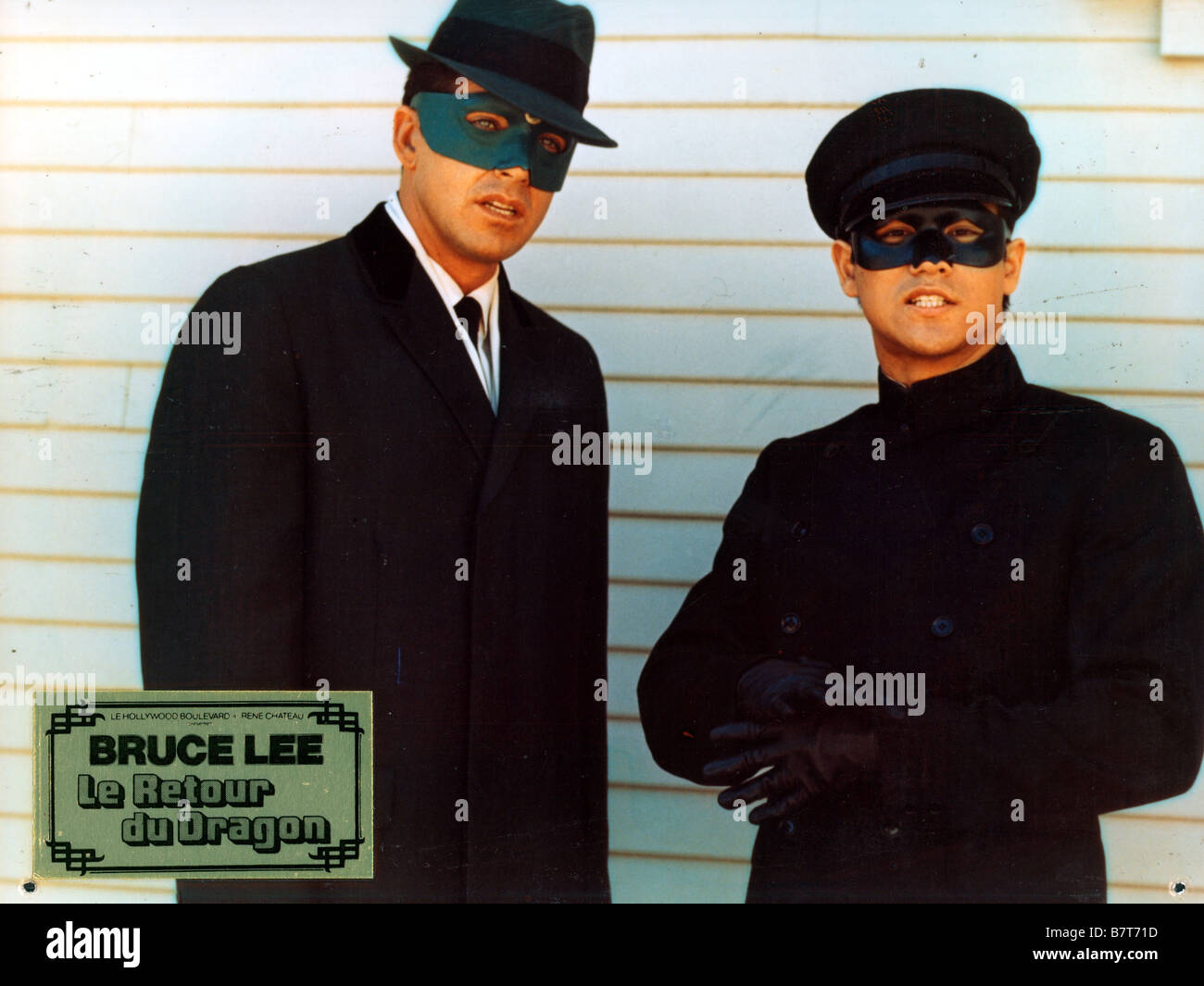 The Green hornet TV Series 1966 - 1967 USA Created by George W. Trendle Van Williams, Bruce Lee - Stock Image