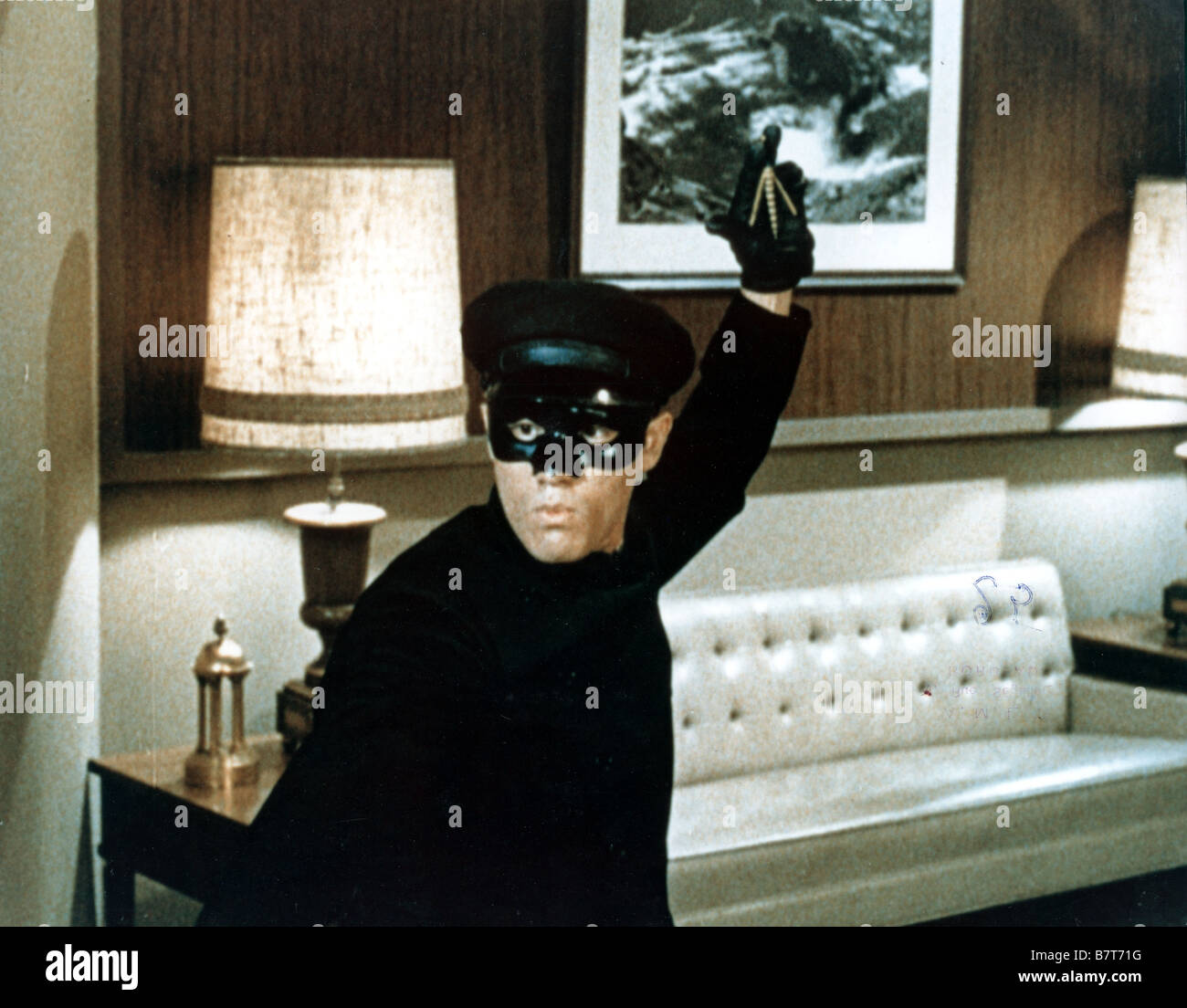 The Green hornet TV Series 1966 - 1967 USA Created by George W. Trendle Bruce Lee Stock Photo