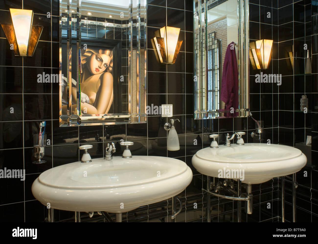 1930 Bathroom Design Art Deco Bathroom Stock Photos Amp Art Deco Bathroom Stock