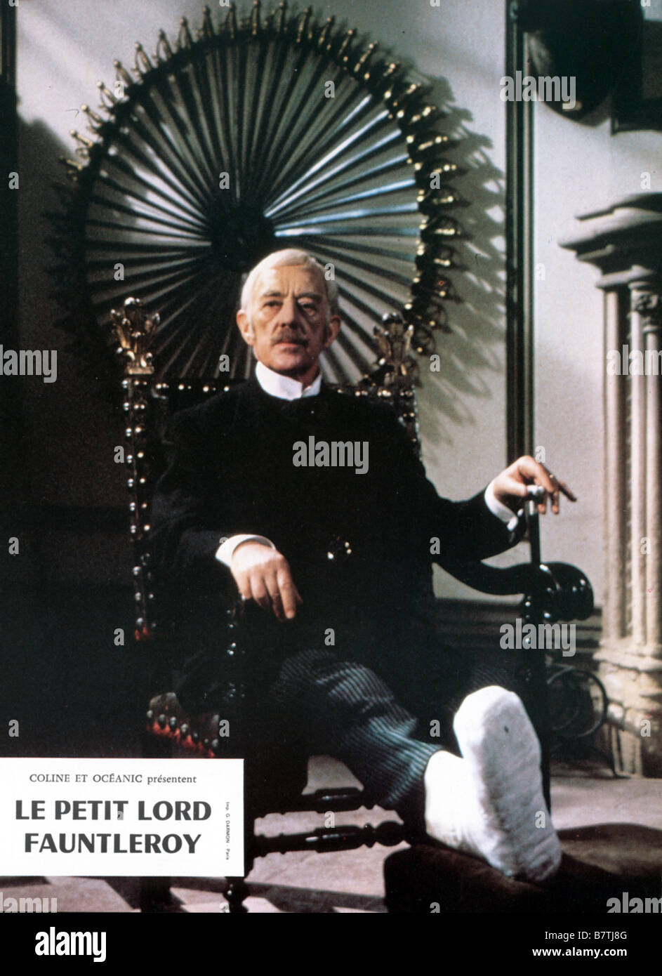 Little Lord Fauntleroy  Year: 1980 - UK Director: Jack Gold Alec Guinness - Stock Image