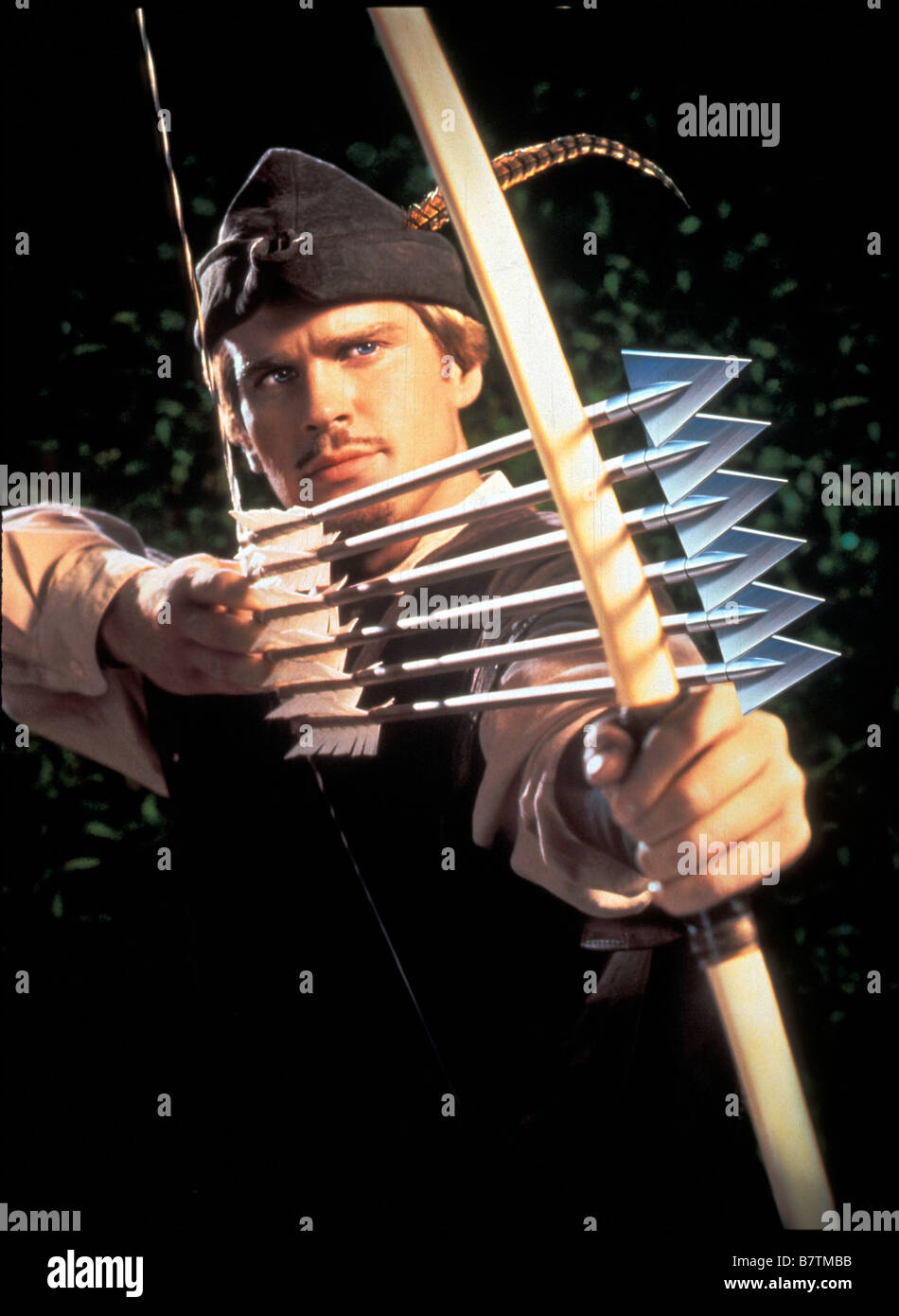 Robin Hood: Men in Tights  Year: 1993 USA Cary Elwes  Director: Mel Brooks - Stock Image
