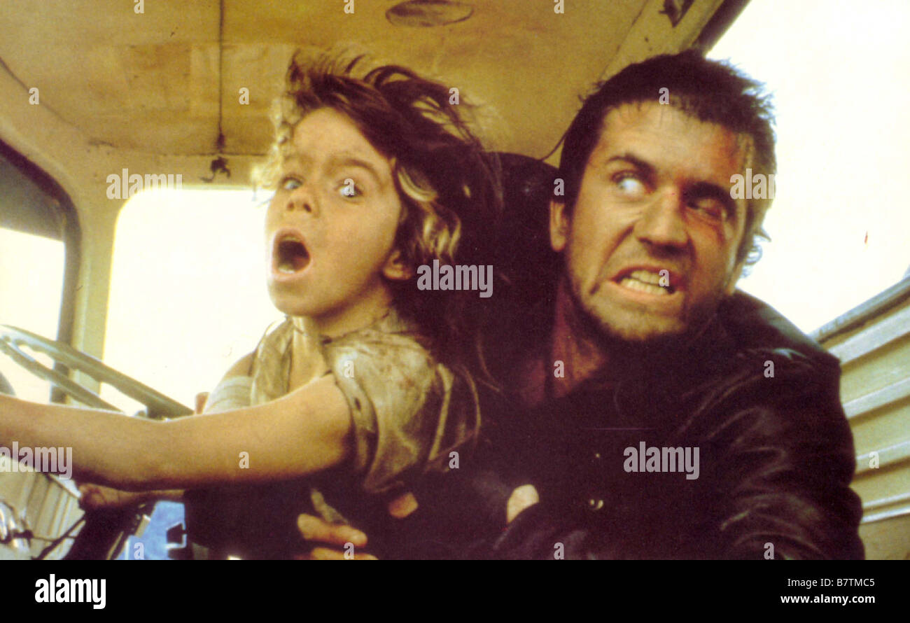 Mad Max 2: The Road Warrior  Year: 1981 - Australia Mel Gibson  Director: George Miller - Stock Image