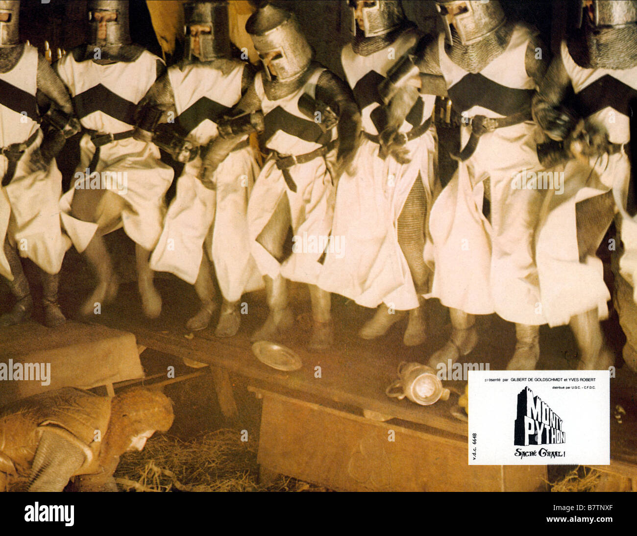 Monty Python The Royal Philharmonic Orchestra Goes To The Bathroom: Monty Python And The Holy Grail (1975) Stock Photos