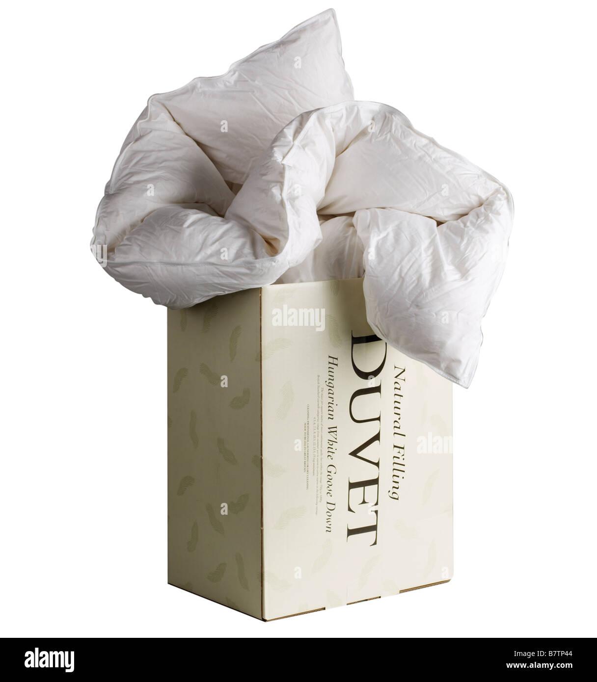 Duvet - Stock Image